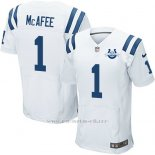Camiseta Indianapolis Colts Mcafee Blanco Nike Elite NFL Hombre