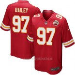 Camiseta Kansas City Chiefs Bailey Rojo Nike Game NFL Nino