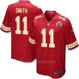 Camiseta Kansas City Chiefs Smith Rojo Nike Game NFL Nino