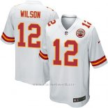 Camiseta Kansas City Chiefs Wilson Blanco Nike Game NFL Nino