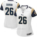 Camiseta Los Angeles Rams Barron Blanco Nike Game NFL Mujer