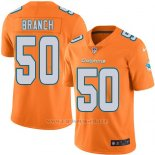 Camiseta Miami Dolphins Branch Naranja Nike Legend NFL Hombre