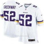 Camiseta Minnesota Vikings Greenway Blanco Nike Game NFL Hombre