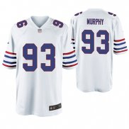 Camiseta NFL Game Hombre Buffalo Bills Trent Murphy Throwback Blanco