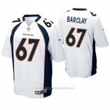 Camiseta NFL Game Hombre Denver Broncos Don Barclay Blanco