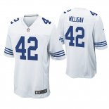 Camiseta NFL Game Hombre Indianapolis Colts Rolan Milligan Blanco