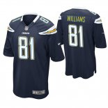 Camiseta NFL Game Hombre San Diego Chargers Mike Williams Azul