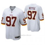 Camiseta NFL Game Hombre Washington Redskins Tim Settle Blanco