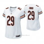 Camiseta NFL Game Mujer Chicago Bears Tarik Cohen Blanco