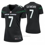 Camiseta NFL Game Mujer New York Jets Chandler Catanzaro Negro