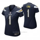 Camiseta NFL Game Mujer San Diego Chargers Ty Long Azul