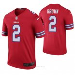 Camiseta NFL Legend Hombre Buffalo Bills John Brown Color Rush Rojo