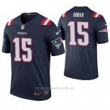 Camiseta NFL Legend Hombre New England Patriots Dontrelle Inman Azul Color Rush