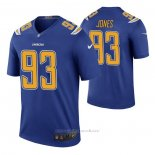 Camiseta NFL Legend Los Angeles Chargers Justin Jones Color Rush Azul