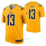 Camiseta NFL Legend Los Angeles Chargers Keenan Allen Inverted Oro