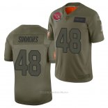 Camiseta NFL Limited Arizona Cardinals Isaiah Simmons 2019 Salute To Service Verde