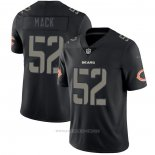 Camiseta NFL Limited Chicago Bears Mack Black Impact