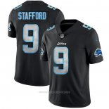Camiseta NFL Limited Detroit Lions Stafford Black Impact