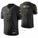 Camiseta NFL Limited Hombre Atlanta Falcons Matt Bryant Golden Edition Negro