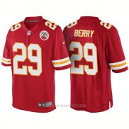 Camiseta NFL Limited Hombre Kansas City Chiefs 29 Eric Berry Rush Limited Rojo