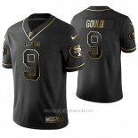 Camiseta NFL Limited Hombre San Francisco 49ers Robbie Gould Golden Edition Negro