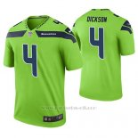 Camiseta NFL Limited Hombre Seattle Seahawks Michael Dickson Verde Color Rush
