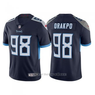 Camiseta NFL Limited Hombre Tennessee Titans Brian Orakpo Azul Vapor Untouchable