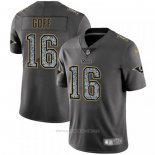 Camiseta NFL Limited Los Angeles Rams Goff Static Fashion Gris