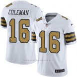 Camiseta New Orleans Saints Coleman Blanco Nike Legend NFL Hombre