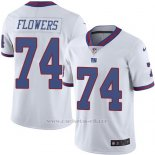 Camiseta New York Giants Flowers Blanco Nike Legend NFL Hombre