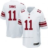 Camiseta New York Giants Simms Blanco Nike Game NFL Nino