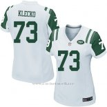Camiseta New York Jets Klecko Blanco Nike Game NFL Mujer
