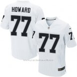 Camiseta Oakland Raiders Howard Blanco Nike Elite NFL Hombre