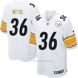 Camiseta Pittsburgh Steelers Bettis Blanco Nike Game NFL Nino