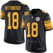 Camiseta Pittsburgh Steelers Mettenberger Negro Nike Legend NFL Hombre