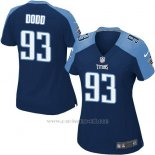 Camiseta Tennessee Titans Dood Azul Oscuro Nike Game NFL Mujer