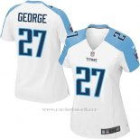 Camiseta Tennessee Titans George Blanco Nike Game NFL Mujer