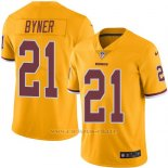 Camiseta Washington Redskins Byner Amarillo Nike Legend NFL Hombre