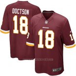 Camiseta Washington Redskins Doctson Rojo Nike Game NFL Marron Hombre
