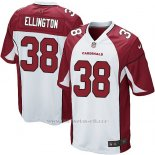 Camiseta Arizona Cardinals Ellington Blanco Rojo Nike Game NFL Nino