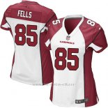 Camiseta Arizona Cardinals Fells Blanco Rojo Nike Game NFL Mujer