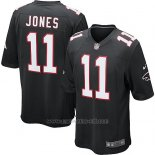 Camiseta Atlanta Falcons Jones Negro Nike Game NFL Hombre2
