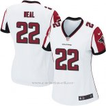 Camiseta Atlanta Falcons Neal Blanco Nike Game NFL Mujer
