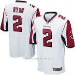Camiseta Atlanta Falcons Ryan Blanco Nike Game NFL Hombre
