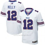 Camiseta Buffalo Bills Kelly Blanco Nike Elite NFL Hombre