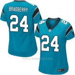 Camiseta Carolina Panthers Bradberry Lago Azul Nike Game NFL Mujer