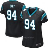 Camiseta Carolina Panthers Ealy Negro Nike Game NFL Mujer