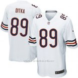 Camiseta Chicago Bears Ditka Blanco Nike Game NFL Hombre