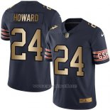 Camiseta Chicago Bears Howard Profundo Azul Nike Gold Legend NFL Hombre