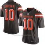 Camiseta Cleveland Browns Griffin Marron Nike Game NFL Nino